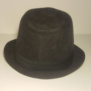 Levi's like new black denim fedora bucket hat